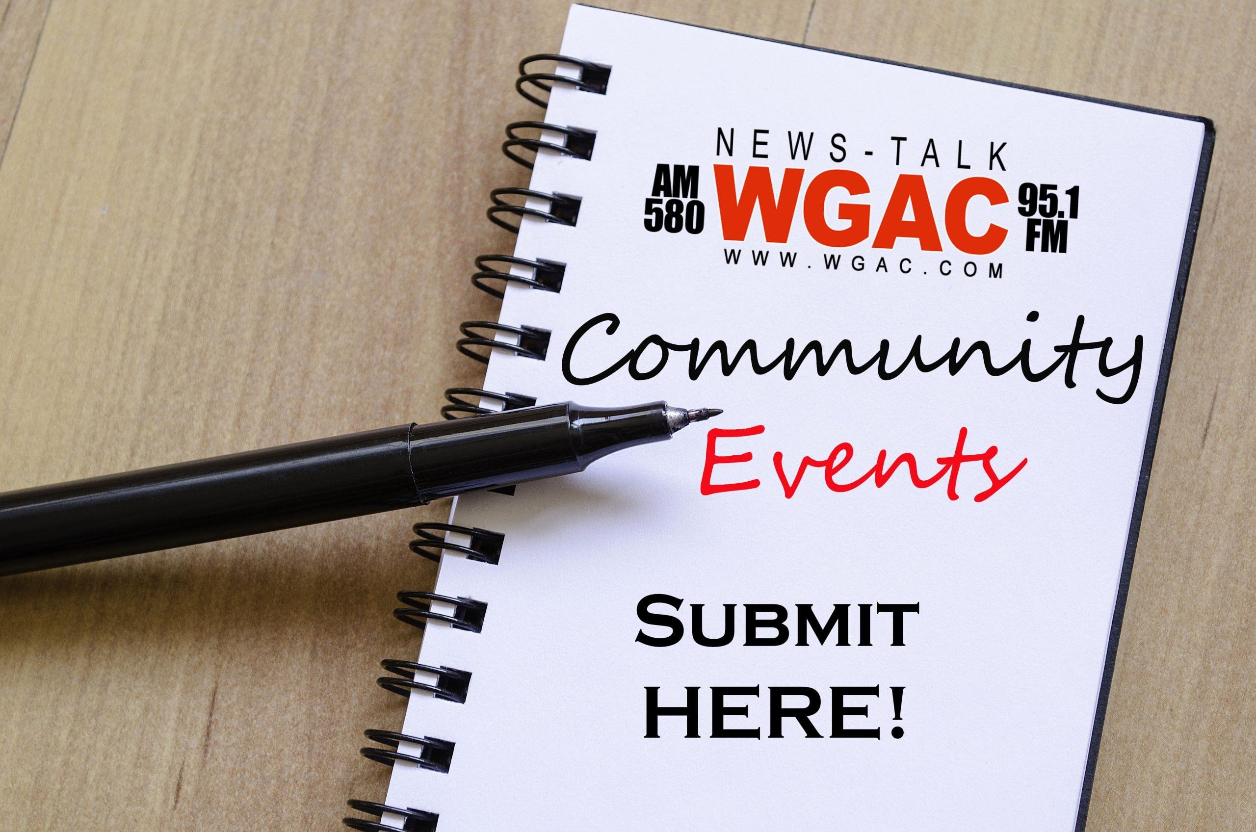 WGAC Community Events Calendar